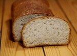 Хлеб с жареным чесноком методом старого теста