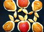 Груши с яблоками в слоеном тесте
