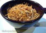Запеканка из картофеля, печеных каштанов и грецких орехов