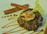 Гречневая запеканка-десерт с медом и бананами