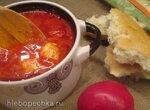 Дип из моцареллы в соусе маринара