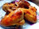 Куриные крылышки в апельсиново-тутовом маринаде