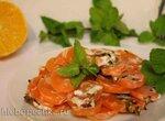 Морковь запеченная в мятно-кокосовом соусе