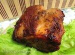 Нежная свиная корейка, запечённая в протёртой клюкве