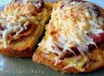 Горячие бутерброды Барышня-крестьянка