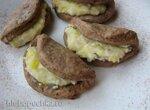 Сочники шоколадно-кокосовые с рикоттой