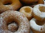 Пончики из наливного песочно-дрожжевого теста (духовка)