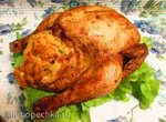 Фаршированная курица Особенная