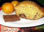 Апельсиново-шоколадный кекс