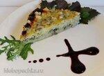 Овощная запеканка с сельдереем, зеленой редькой и сыром с голубой плесенью
