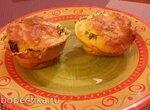 Закусочные пирожки-маффины без муки