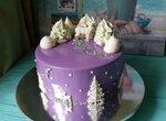 Торт Зимняя вишня (муссовый Черный лес)