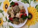 Курица в собственном соку с овощами (диетическое блюдо)