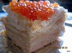 Торт Рыбный наполеон