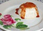Суфле творожное с финиковым сиропом
