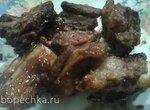 Свиные ребрышки в ароматном, сладком маринаде