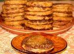 Постные тыквенные оладьи десертные