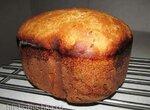 Пшеничный хлеб на ржаной закваске с семенами и цельнозерновой мукой в хлебопечке