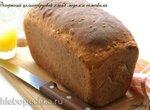 Десертный цельнозерновой хлеб с медом и семечками