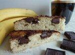 Банановый пирог с шоколадом