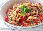 Острые овощные спагетти