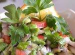 Сальса овощная с авокадо для перекуса