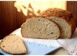 Пивной хлеб с поджаренным ячменем по рецепту из книги Хлеб. Технология и рецептуры Дж. Хамельмана