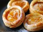 Быстрые абрикосовые слойки