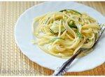 Спагетти с цукини и базиликом