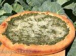 Диетический дачный пирог с суфле из капусты