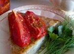 Большой драник с вяленными помидорами в Тортилке