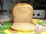 Пшенично-ржаной быстрый черный хлеб (хлебопечка)