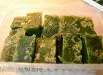 Кубики из сока стеблей сельдерея замороженные