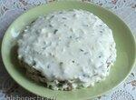 Капустный закусочный торт