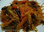 Салат из баклажанов по-корейски (два варианта одного салата)