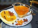 Соус-карамель апельсиновый