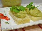 Паста закусочная из авокадо с бобовыми (для вегетарианцев и веганов)