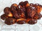 Ракушки творожные из безкрахмальной муки с апельсином и шоколадом в печеннице Мадлен Prinsess