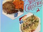 Рождественский обед из утки