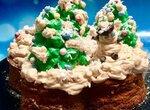 Пирог-чиз из овсянки, рикотты и творога