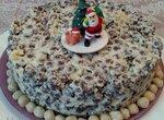 Торт без выпечки Похрустим для праздничного стола