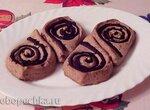Суфле творожное с черносливом и шоколадом на агар-агаре