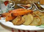 Запеченные в духовке в меду батат и репа Honey-roasted parsnips