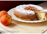 Пирог с нектаринами и финиками в мультиварке Philips HD3134
