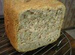 Пшенично-гречневый хлеб с грецкими орехами (Автор Caprice)