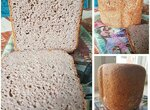 Безглютеновый гречневый хлеб (Redmond RBM-1908)