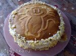 Торт закусочный Шпротный котик