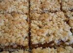 Тертый пирог с кокосовой стружкой (постный)