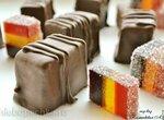 Трехслойный мармелад на пектине в шоколаде