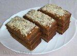 Шоколадно-ореховые пирожные без муки и сахара